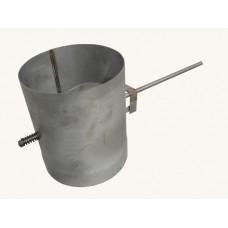 Klapka kouřovodu nerez ø 150 / 330 mm