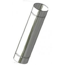 Kouřovod nerez ø 130mm délka 1000 mm 0,6mm