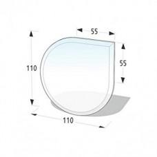 Podkladové tvrzené sklo pod kamna Lienbacher 21.02.884.2