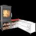 Krbová kamna Haas Sohn SALZBURG EASY 351.15 box na dřevo