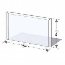 Podkladové tvrzené sklo pod kamna Lienbacher 21.02.870.2