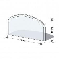 Podkladové tvrzené sklo pod kamna Lienbacher 21.02.872.2
